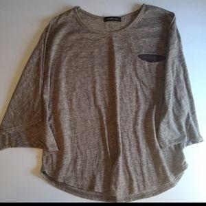 Icinoo Crew Neck Short Sleeve Shirt Size M